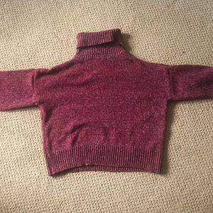 Zaful Sweaters - pink zaful turtleneck sweater